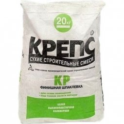 Шпатлевка Крепс КР для сухих помещений 20 кг