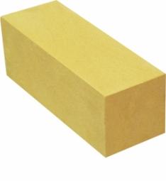 Кирпич лицевой силикатный Желтый полнотелый евро утолщенный