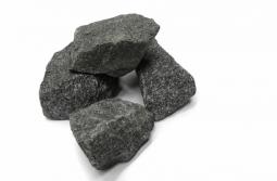 Камень для бани Огненный Камень Габбро-диабаз обвалованный в коробке 20 кг (фр.40)