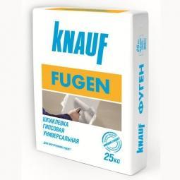 Шпатлевка Knauf Фуген гипсовая 25 кг