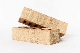Кирпич лицевой керамический Латерра Пшеница пустотелый Евро одинарный