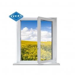 Окно ПВХ Veka 600х600 мм одностворчатое ПО 1 стекло