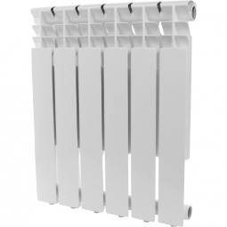 Радиатор алюминиевый Konner Lux 500/80 6 секц.