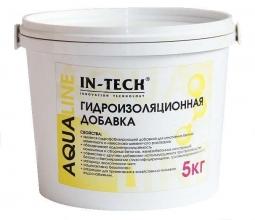 Добавка гидроизоляционная IN-TECK AQUALINE, ведро 5кг