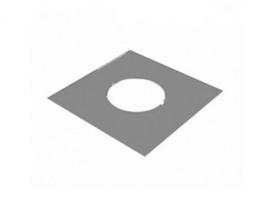 Разделка потолочная декоративная нержавеющая Craft 430/1мм 800х800 ф250