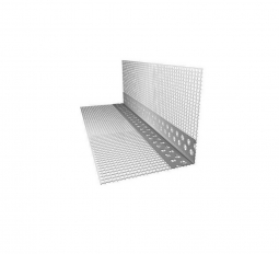 Профиль угловой ПВХ с армирующей сеткой 10х15 L=2.5