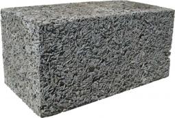 Блок арболитовый 400х200х400 мм D600