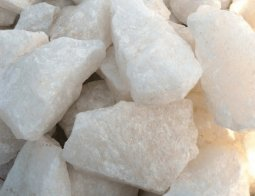 Камень для бани Атлант Камень Кварц колотый-Жаркий лёд в ведре 10 кг