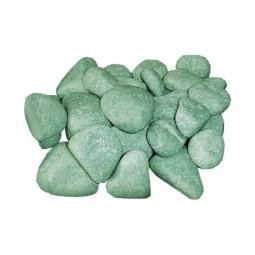 Камень для бани ХакасИнтерСервис Жадеит шлифованный мелкий ЗЖ, 10кг