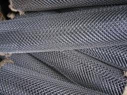 Сетка рабица d=1,6 мм, ячейка 50x50 мм, 2000x1000 мм, светлая