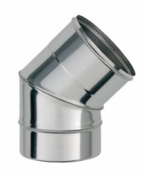 Колено 135° нержавеющее Ferrum 430/0.5 мм ф120