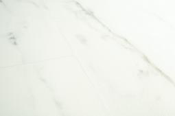 ПВХ-плитка Quick-step Livyn Ambient Glue Plus Мрамор каррарский белый