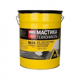 Мастика гидроизоляционная Технониколь битумная № 24 (МГТН) 20кг