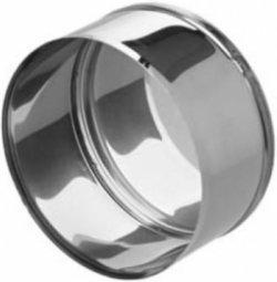Заглушка нержавеющая Ferrum М 430/0.5 мм ф130 внешняя
