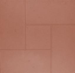 Плитка тротуарная Квадрат Калифорния-3 Шагрень Вибролитая 300х300х30 коричневая