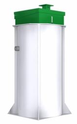 Станция глубокой биологической очистки Евробион-5 Элит (Суперлонг)
