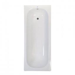 Ванна ВИЗ Donna Vanna DV-63501 стальная, без ручек, с опорной подставкой 160х75х40 белая орхидея