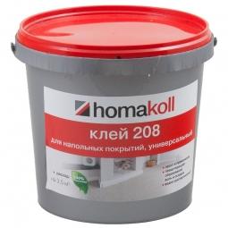Клей Homakoll 268 для гибких напольных покрытий,универсальный 1 кг