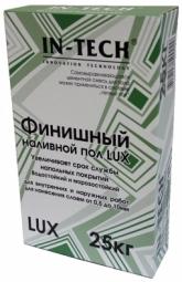 Самовыравнюющийся наливной пол In-Teck Lux финишный 25 кг