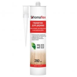 Герметик Homaflex Эластичный тёмный тик 0.4 кг/ 280 мл